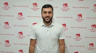 José Marrero, concejal en el Ayuntamiento de La Laguna con Unid@s se puede.