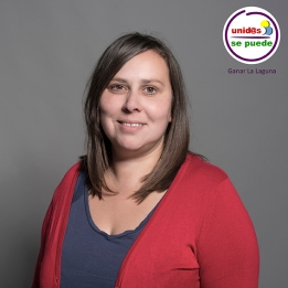 Fátima González, concejala en el Ayuntamiento de La Laguna con Unid@s se puede.